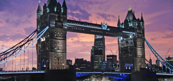 Tower Bridge at sunset is just one of the most instagrammable sights in London