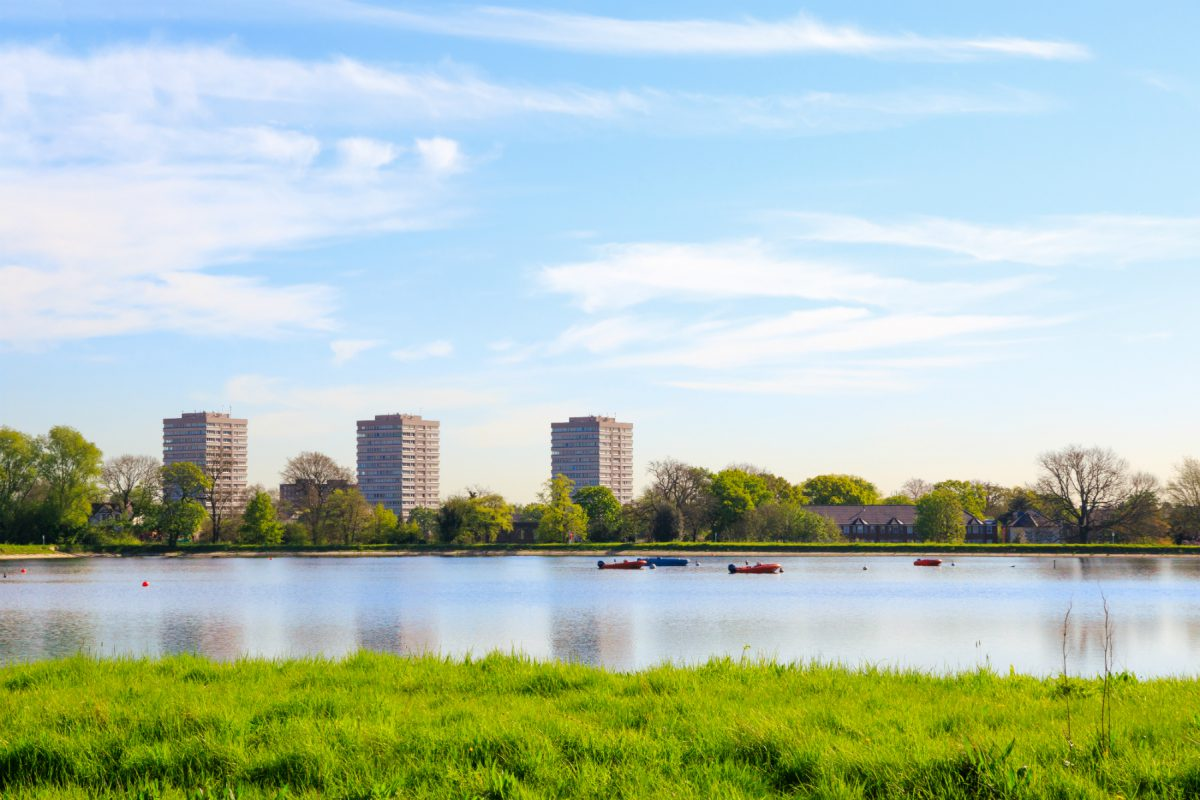 The Stoke Newington West Resevoir Centre is only a few minutes away from London accommodation Newington Court